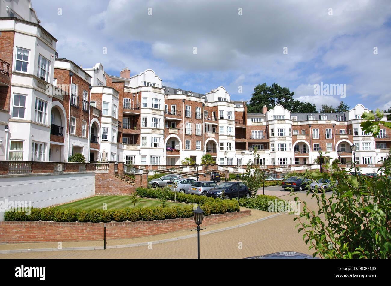 Grand Regency Heights, Ascot, Berkshire, Inglaterra, Reino Unido Imagen De Stock