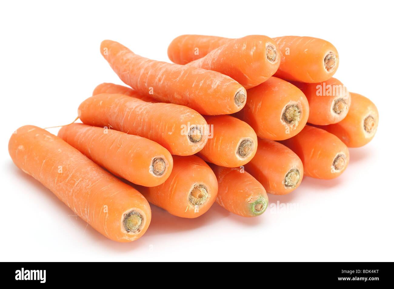 Montón de zanahorias Imagen De Stock