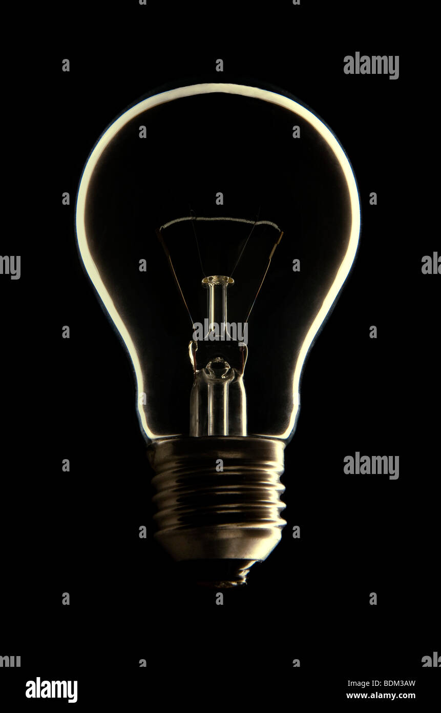 Bombilla de luz Imagen De Stock
