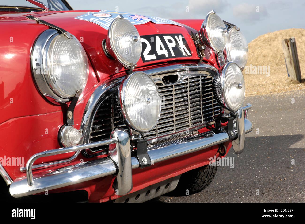 Austin Mini Cooper S 1963 Imagen De Stock