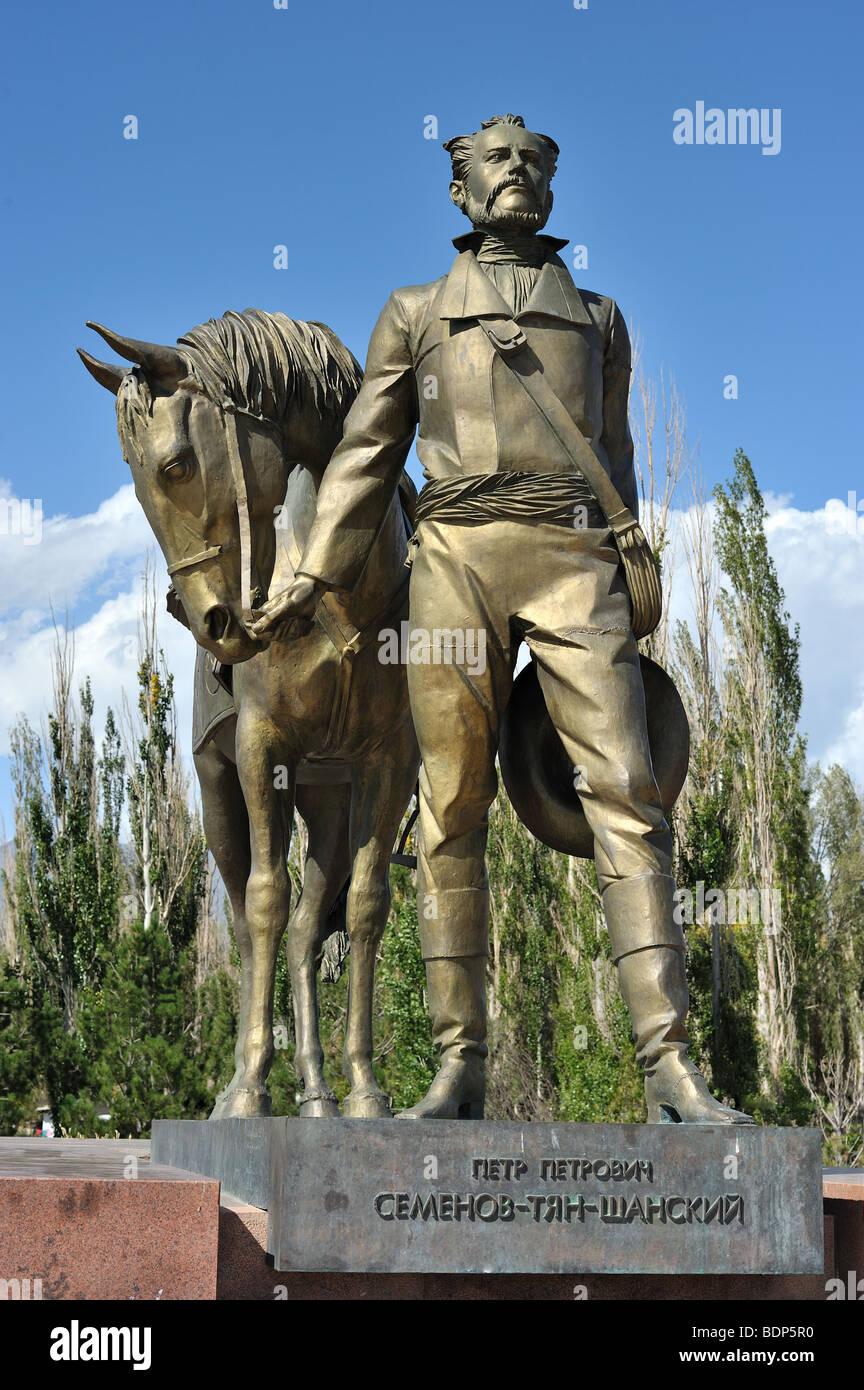 Primera rushian explorer de Asia Central, Semyonov-Tyan-Shansky Imagen De Stock