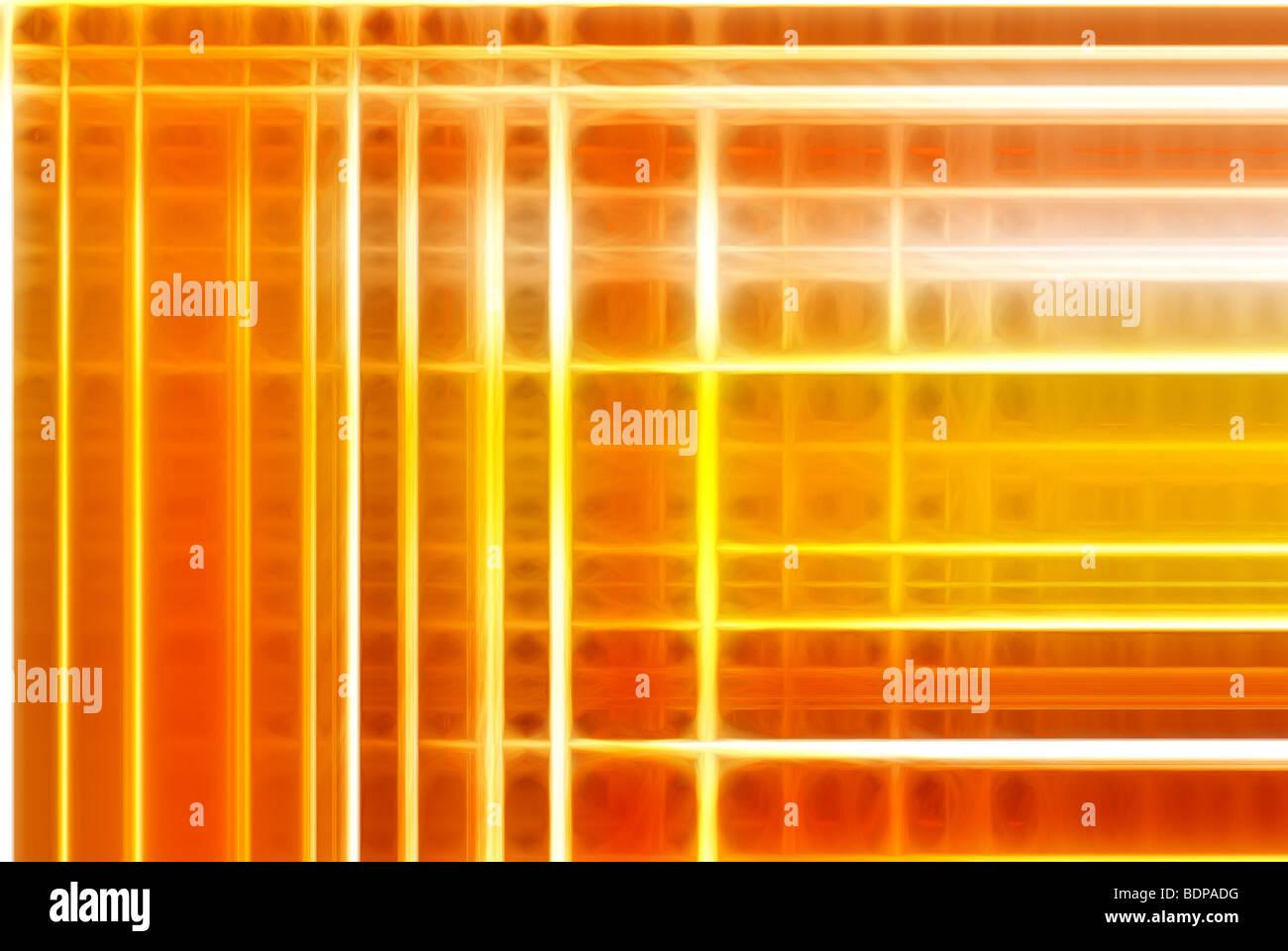 Una imagen de fondo abstracto compuesto de líneas coloridas Foto de stock