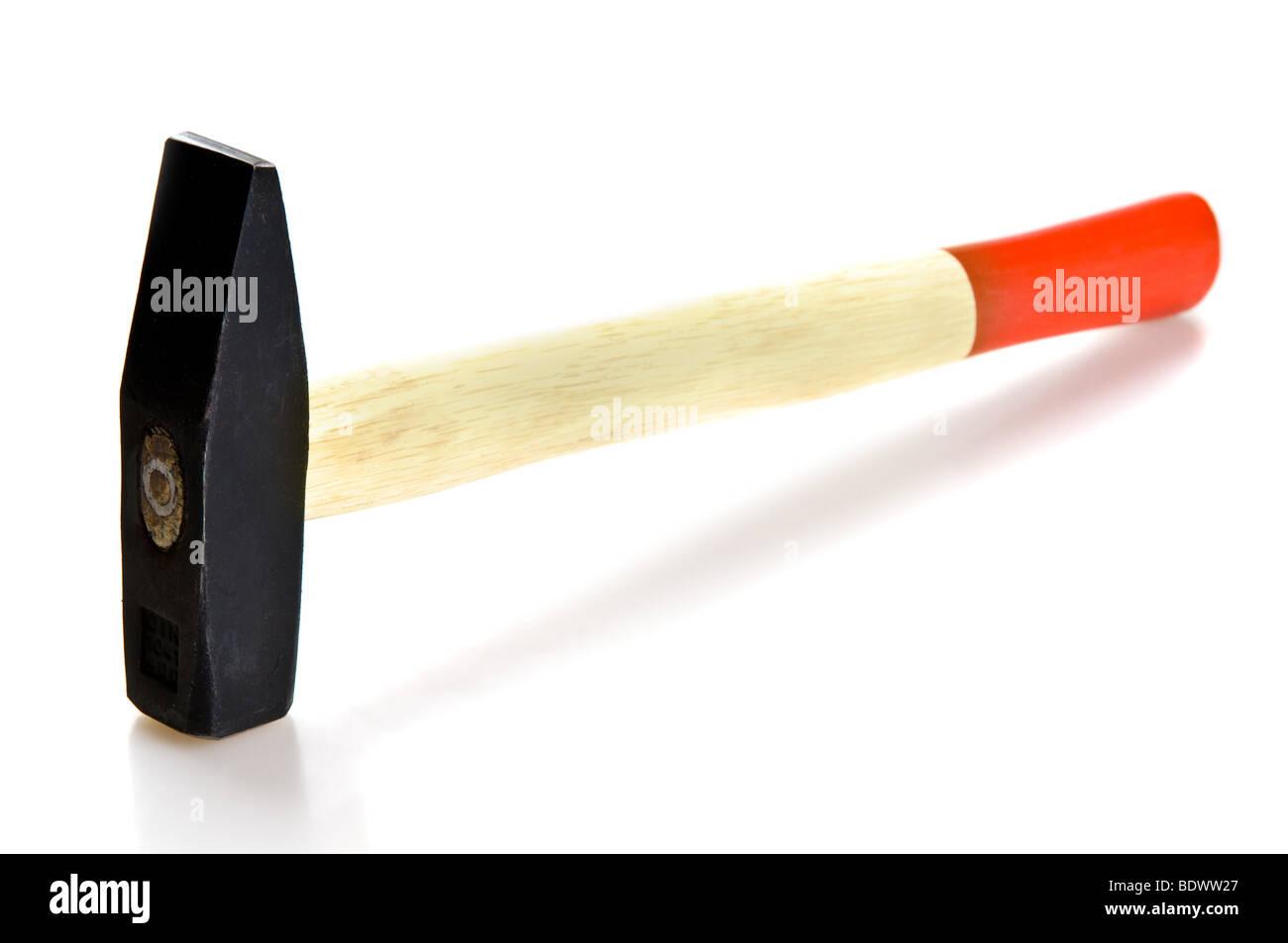 Hammer aislado sobre fondo blanco. Imagen De Stock