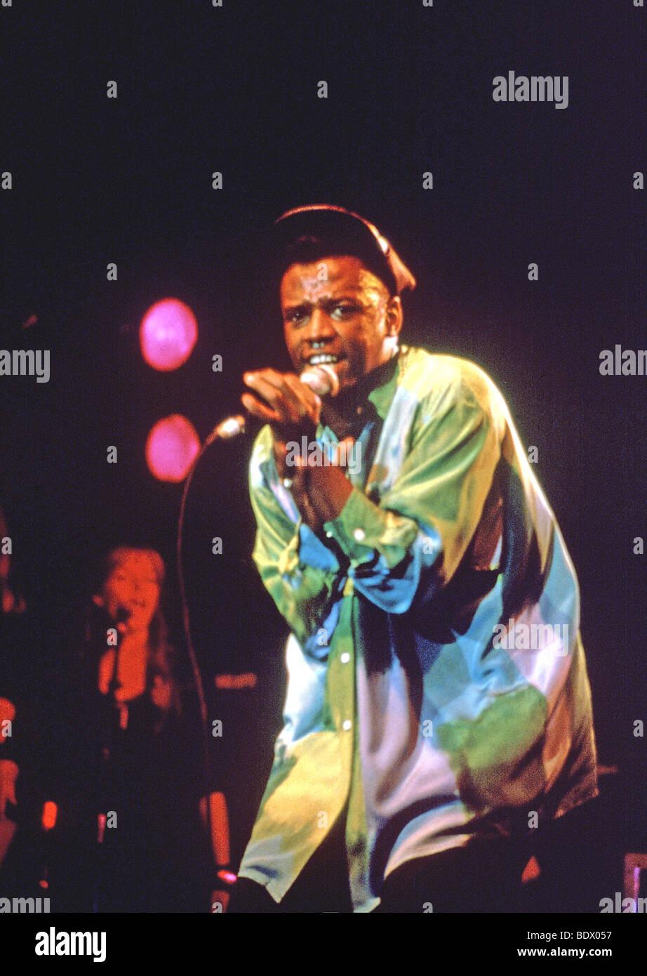 DAVID GRANT - cantante británico en 1983 Imagen De Stock