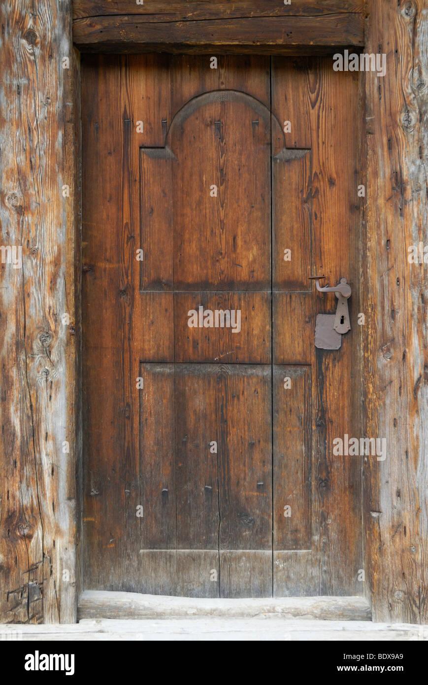 Puertas de madera antiguas affordable interesting puertas - Puerta madera antigua ...