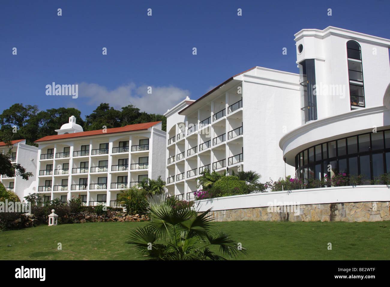 Hotel Intercontinental Playa Bonita Resort y en la República de Panamá. Imagen De Stock