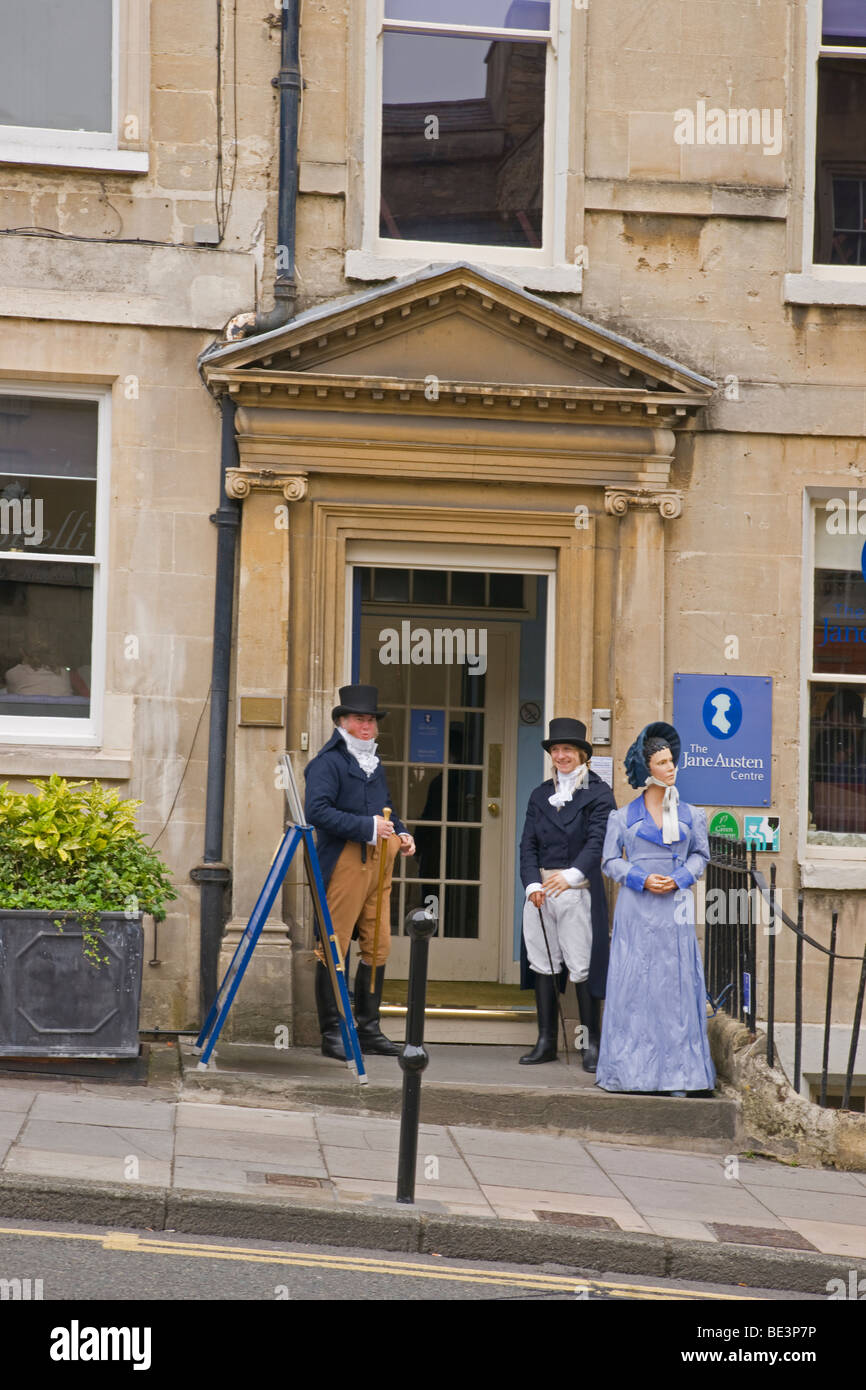 El Centro de Jane Austen, bañera, Gloucestershire, Cotswolds, Inglaterra, julio de 2009 Imagen De Stock