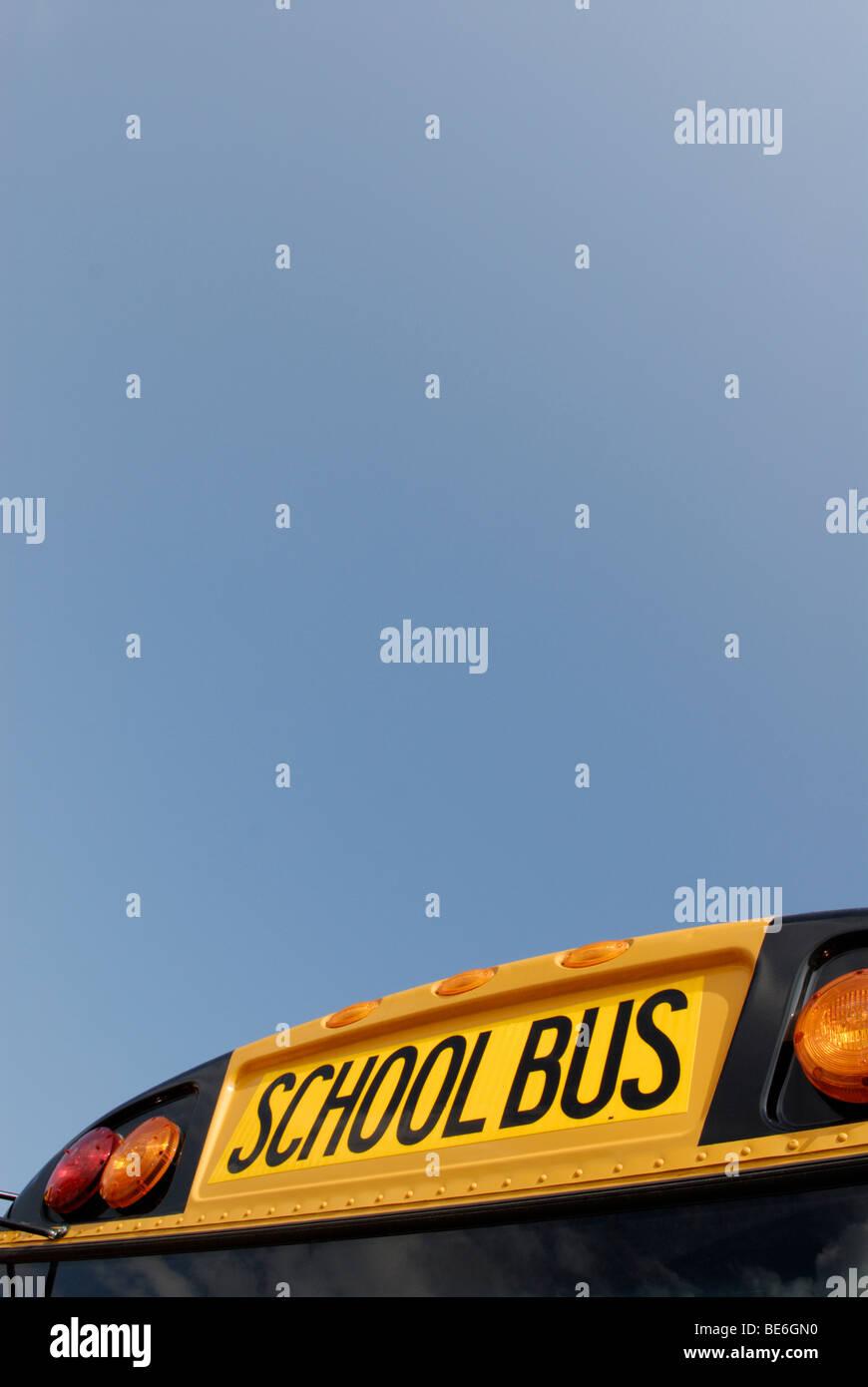 Autobús escolar Imagen De Stock