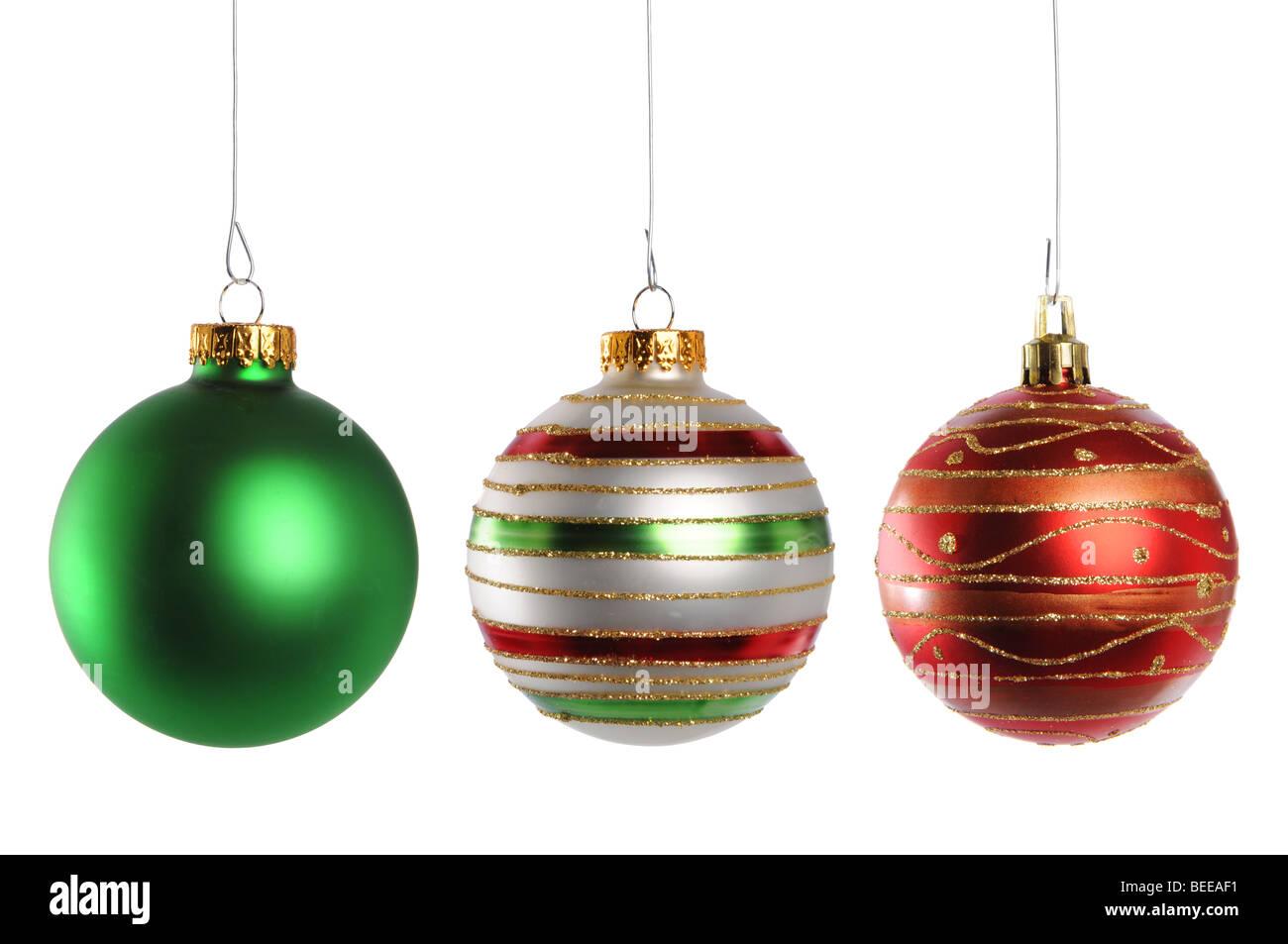 9a3c0a2fdbd Christmas Ornaments Imágenes De Stock   Christmas Ornaments Fotos De ...