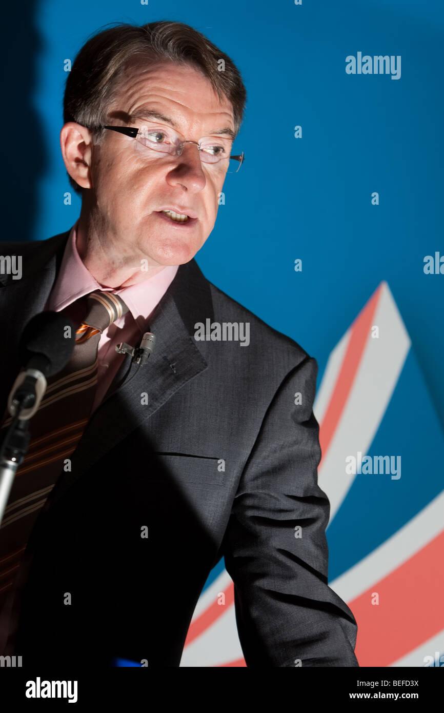 Lord Peter Benjamin Mandelson, político del Partido Laborista. Imagen De Stock