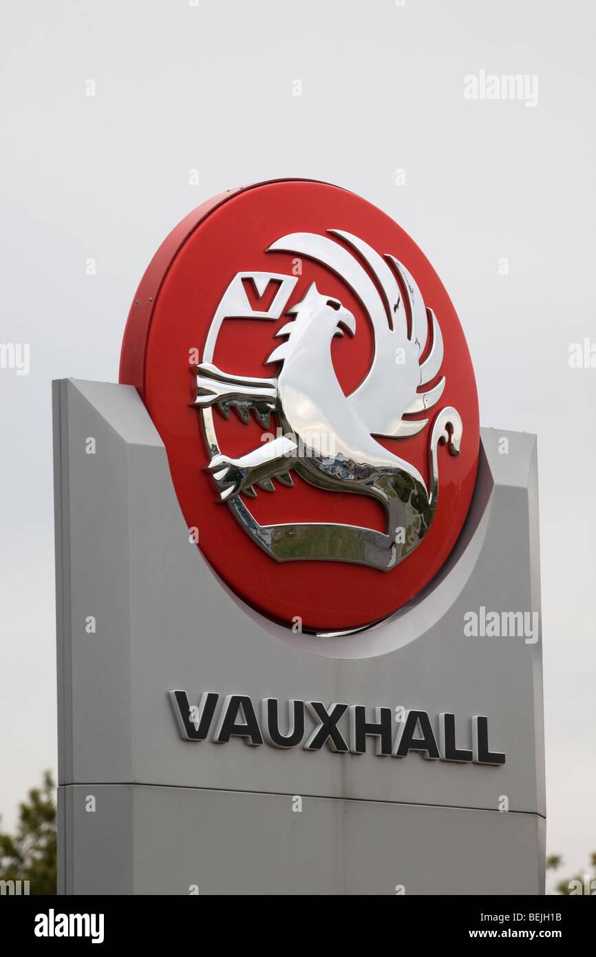 Signo de Vauxhall Imagen De Stock
