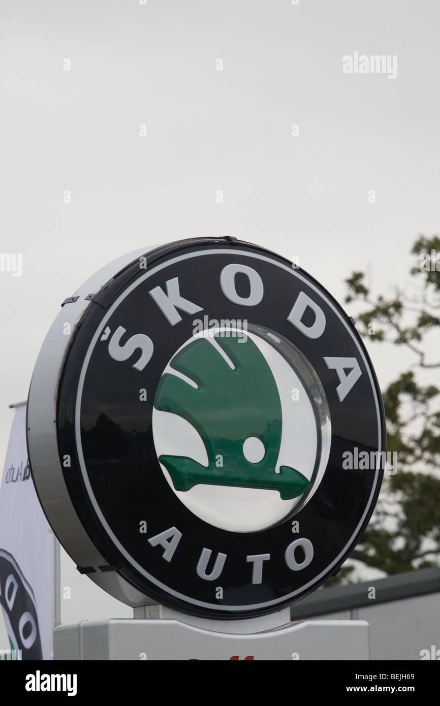 Skoda muestra Imagen De Stock