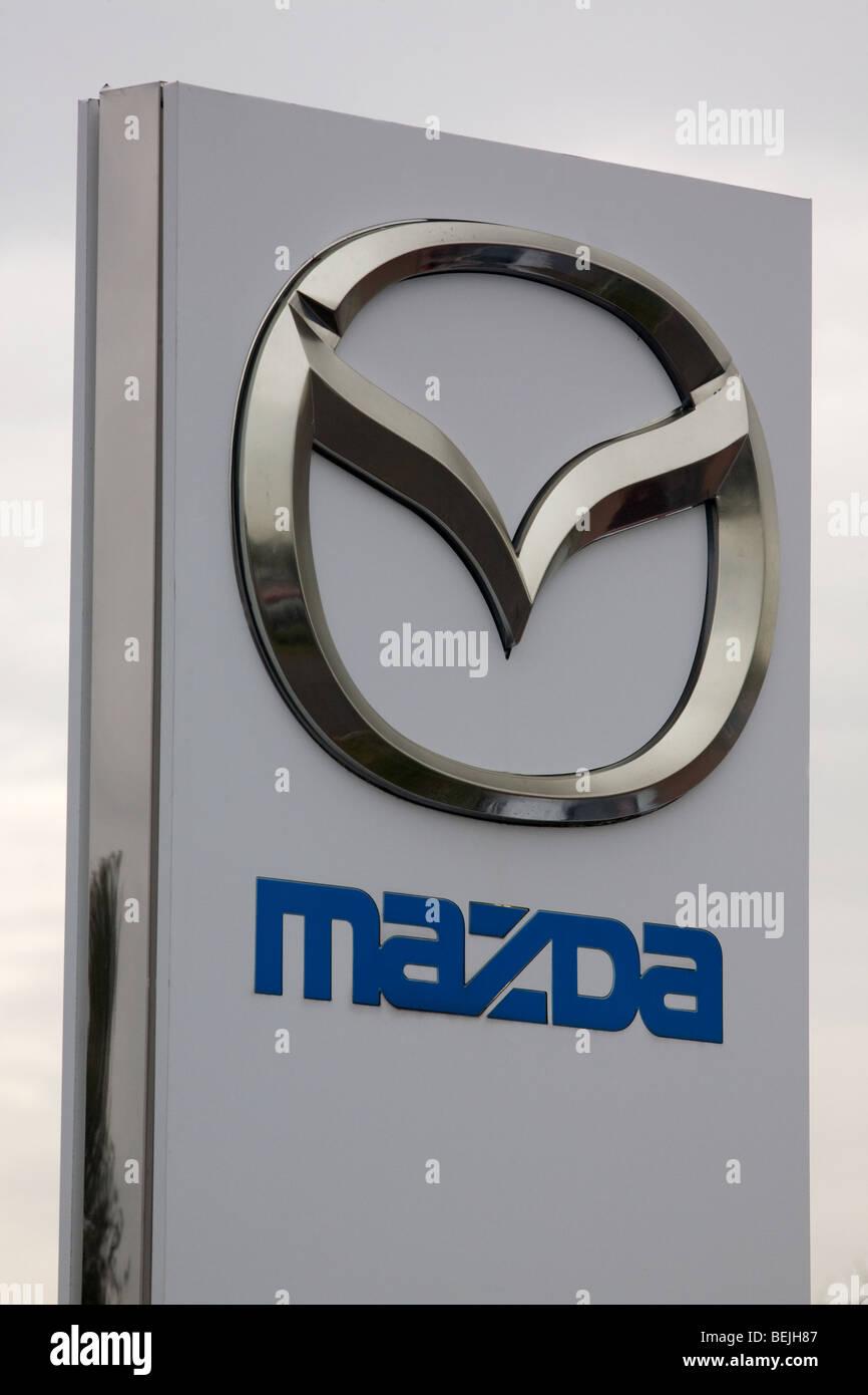 Mazda muestra Imagen De Stock