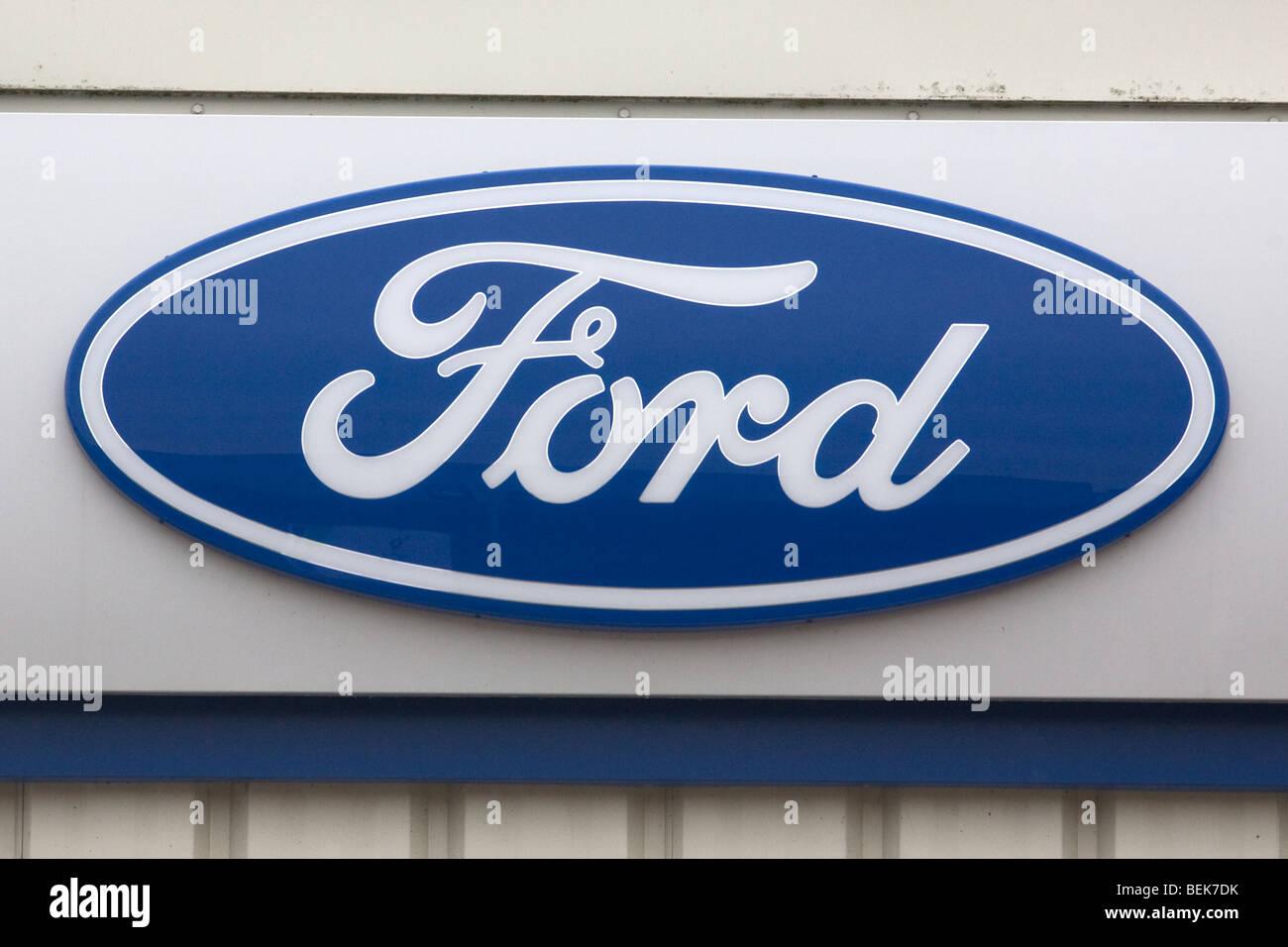 Signo de Ford Imagen De Stock