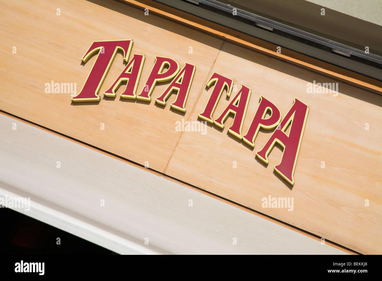 Bar de tapas - Barcelona Imagen De Stock
