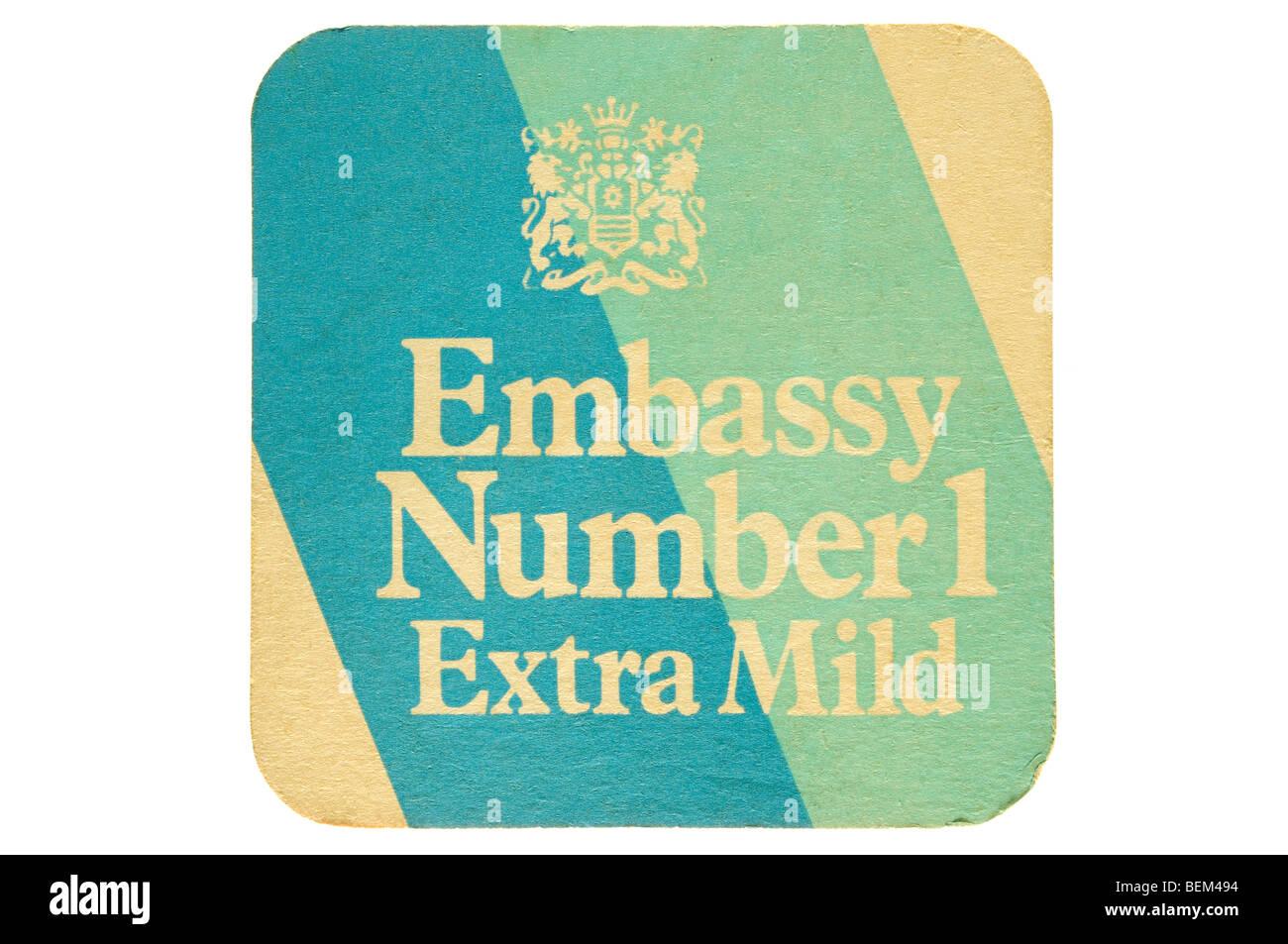 El número 1 de la embajada extra suave Imagen De Stock