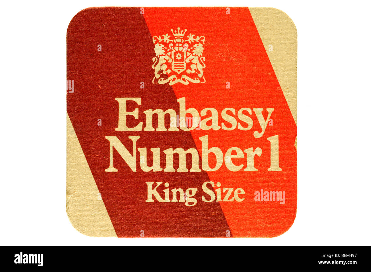 Embajada número 1 king size Imagen De Stock