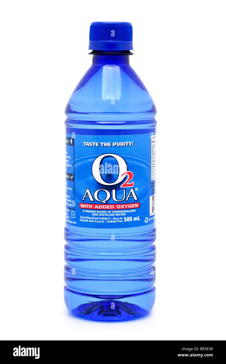 Botella de agua oxigenada destilada Imagen De Stock