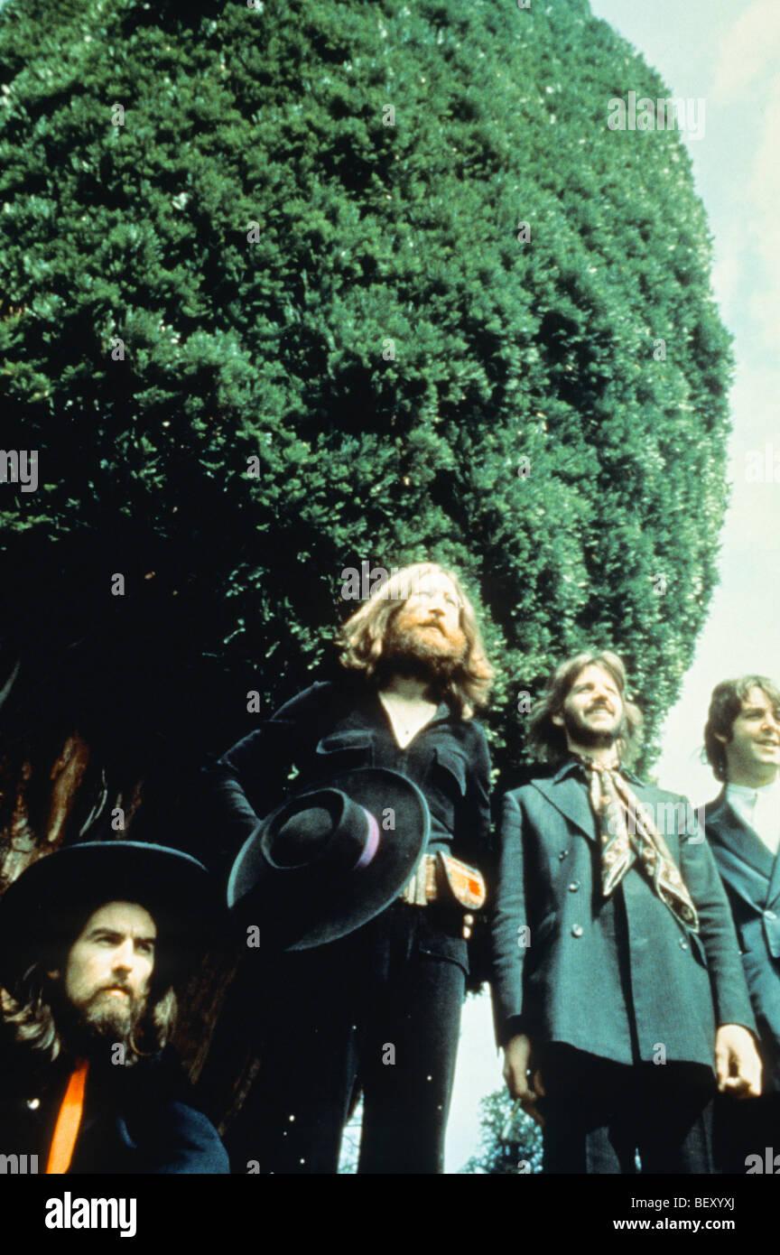 Los Beatles'George Harrison'John Lennon'paul mccartney'Ringo Starr Foto de stock