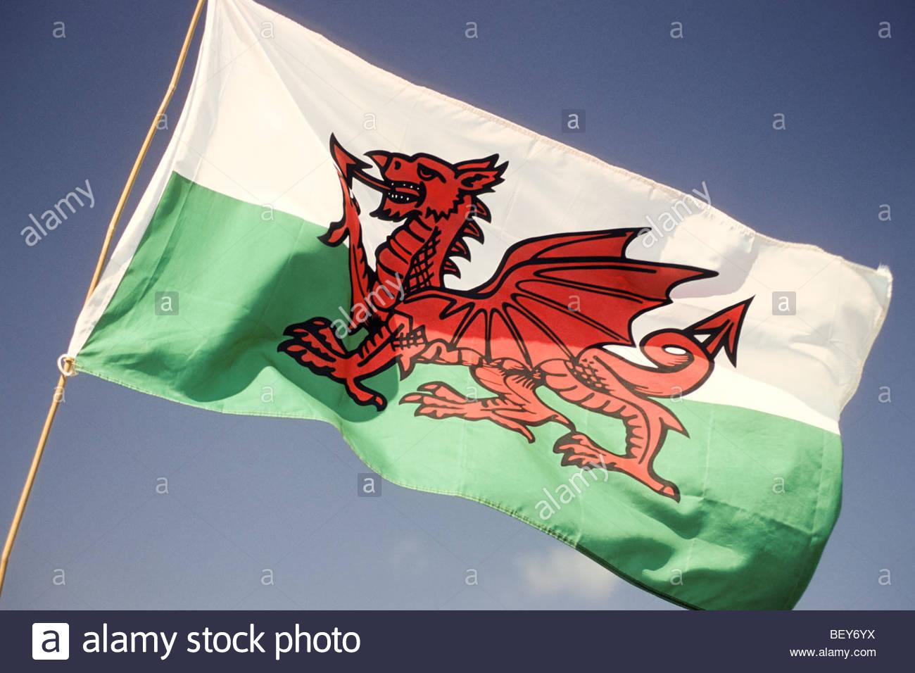 Flag Wales Imágenes De Stock & Flag Wales Fotos De Stock - Alamy
