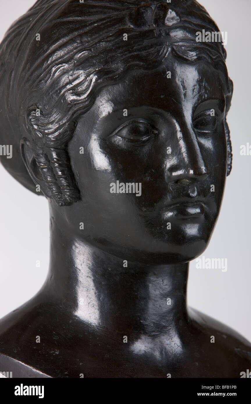 Pequeño busto del Palacio Real de Madrid)'s colección Imagen De Stock