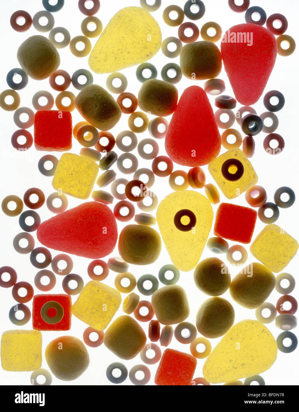 dulces Foto de stock