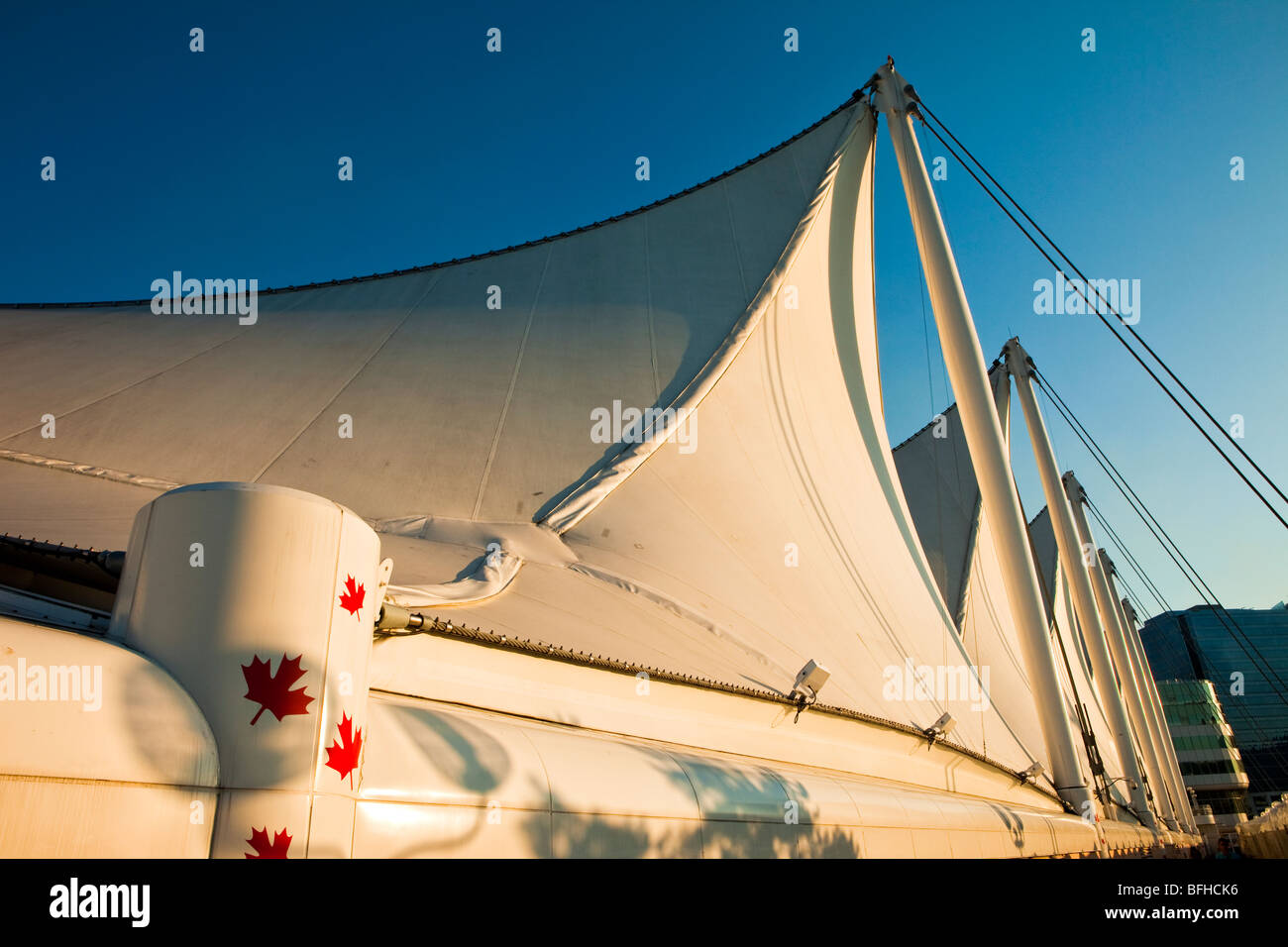 Cinco velas, Canadá, Vancouver, British Columbia, Canadá Foto de stock