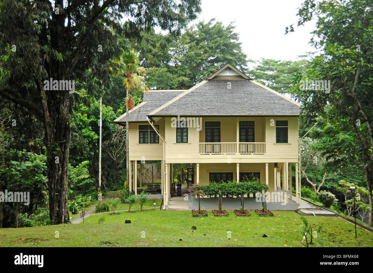 Agnes Keith Casa Colonial, Sandakan, Sabah, Malasia, Borneo Foto de stock