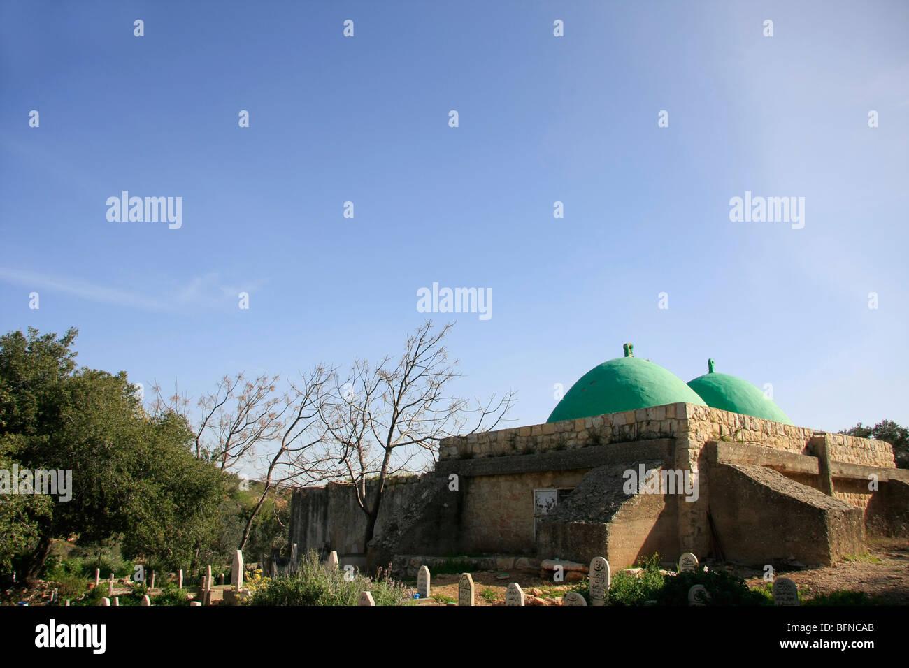 Israel, la Baja Galilea, la tumba del Jeque Abu el hija Imagen De Stock