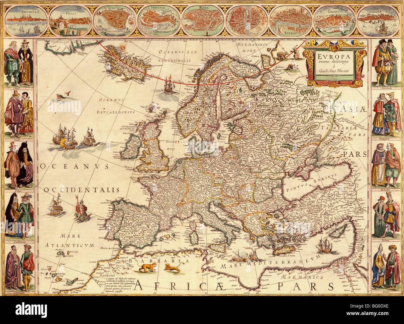 Mapas De Europa Antiguos Buscar Con Google Mapa De Europa