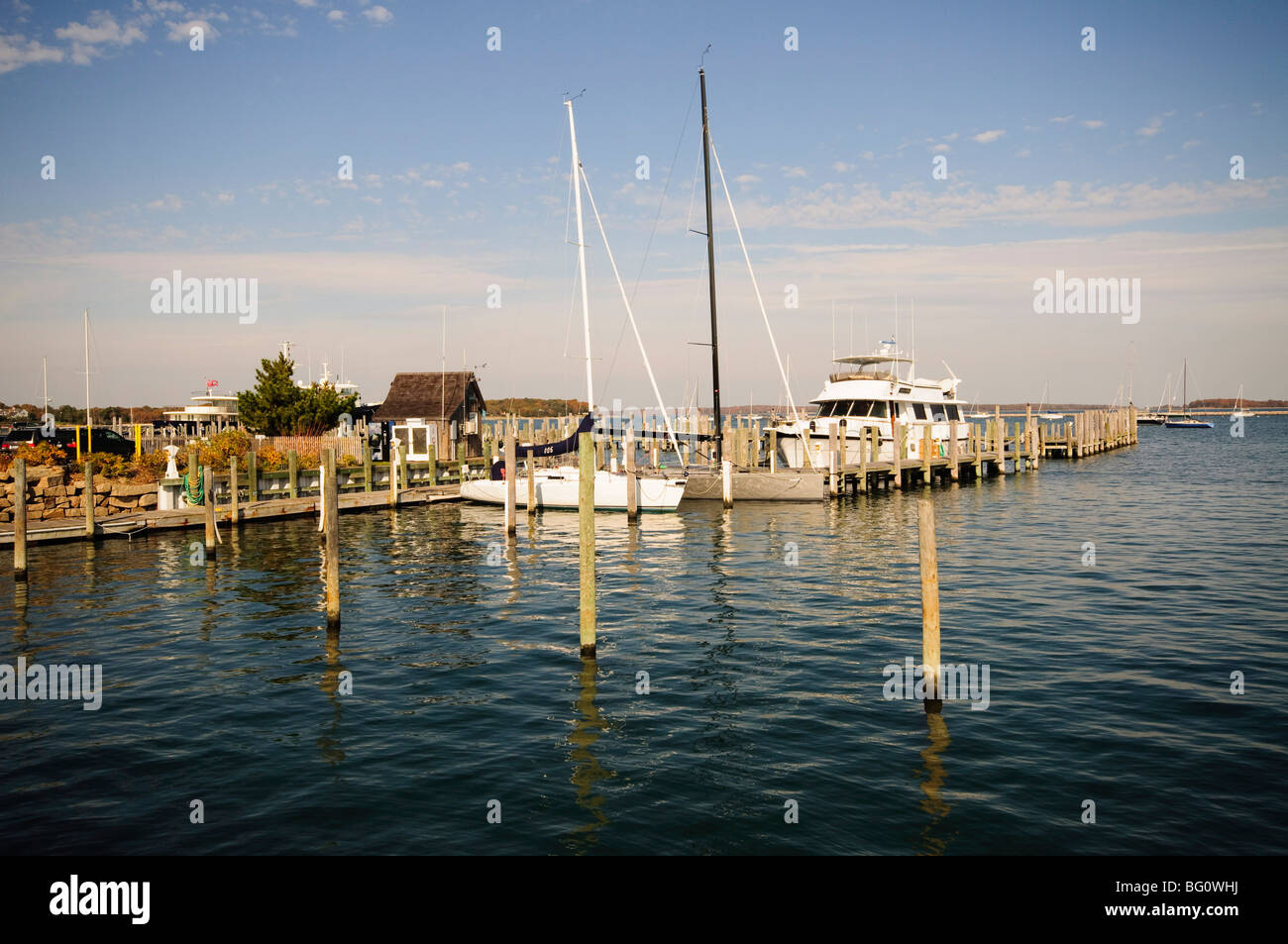 Sag Harbor, los Hamptons, en Long Island, Estado de Nueva York, Estados Unidos de América, América del Imagen De Stock