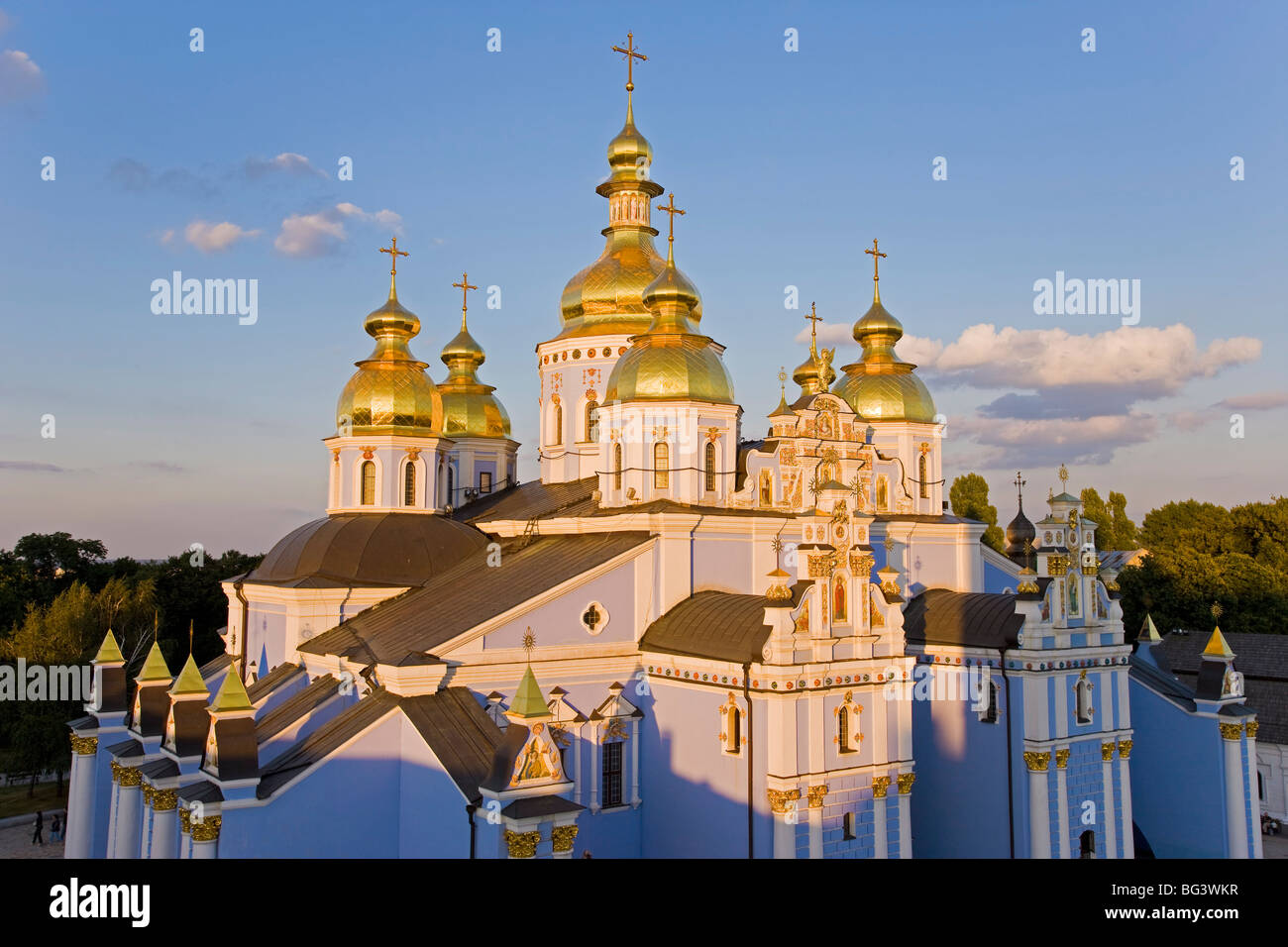Monasterio de San Miguel, Kiev, Ucrania, Europa Imagen De Stock