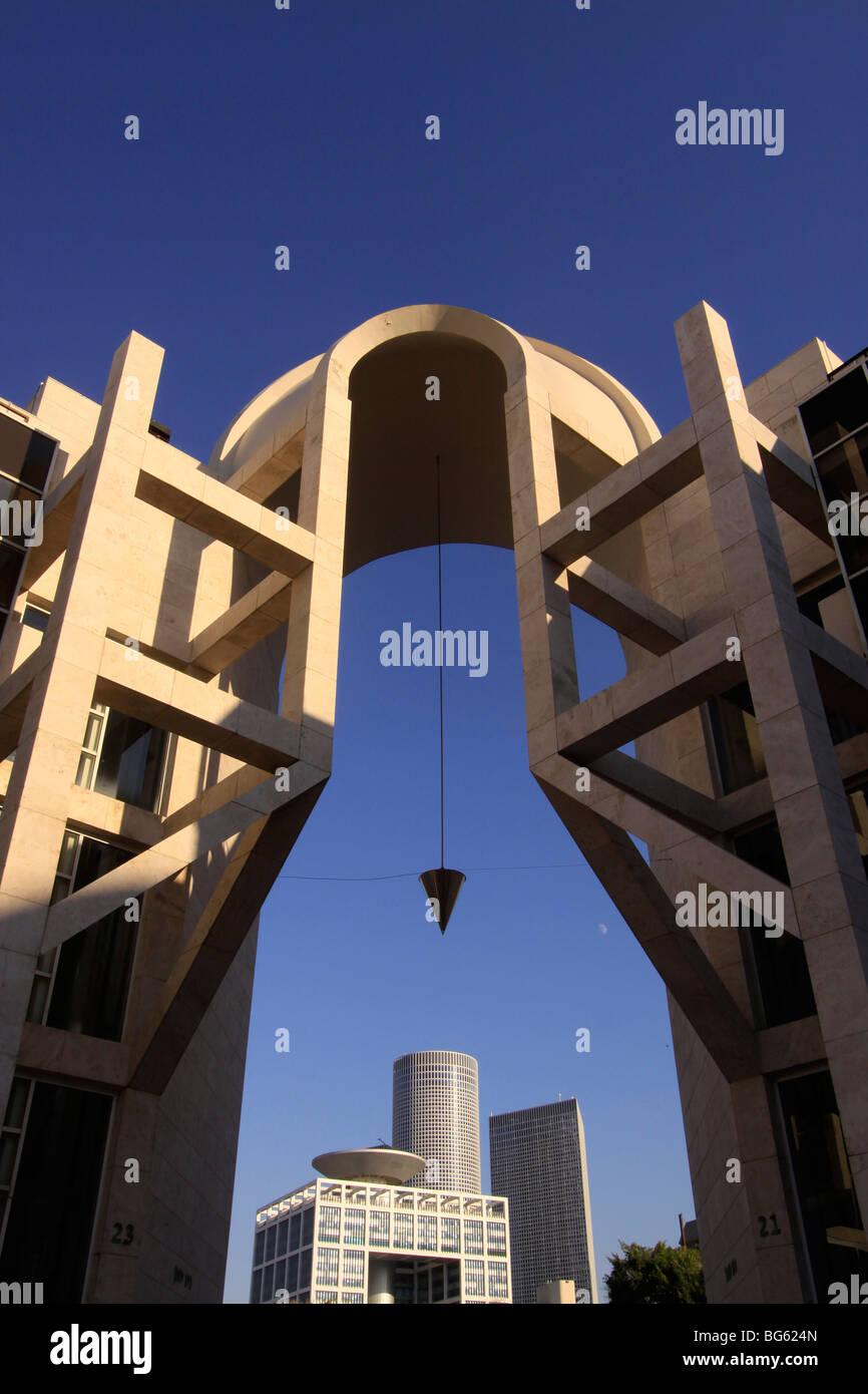 Israel, Golda center en Tel Aviv. Imagen De Stock