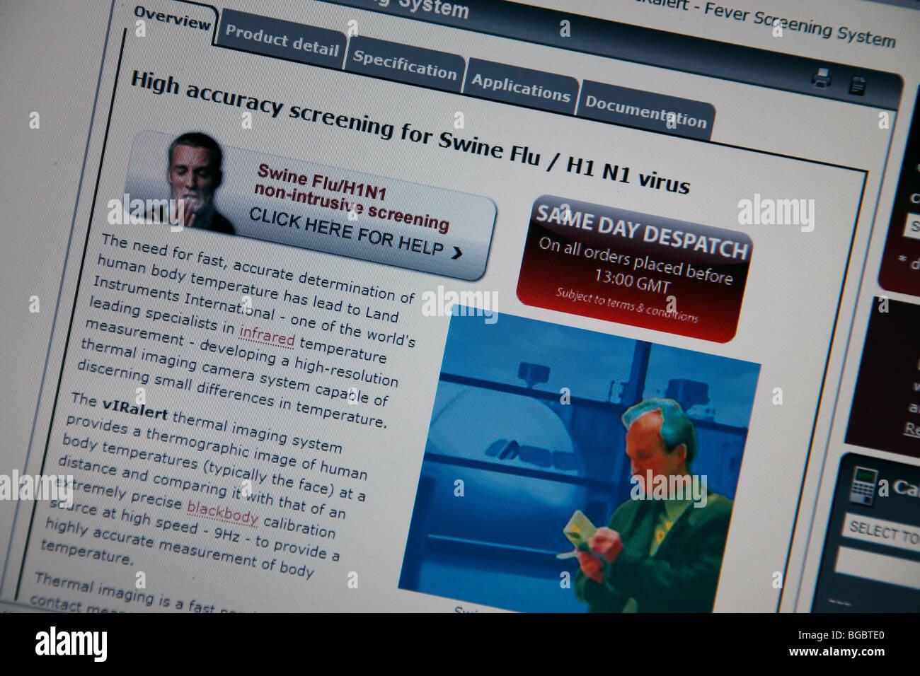 'Swine Flu',Informe.Reportaje,epidemia,Enfermedad Imagen De Stock