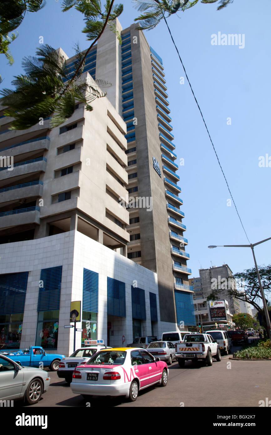 Polana centro comercial en Maputo, la capital de Mozambique. Imagen De Stock