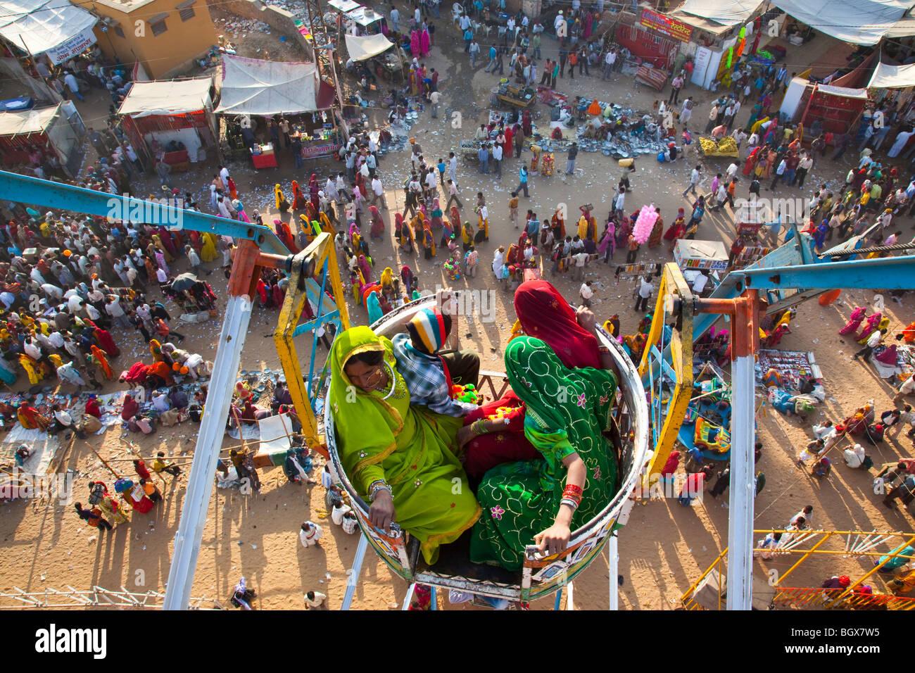 Feria de camellos en Pushkar India Imagen De Stock