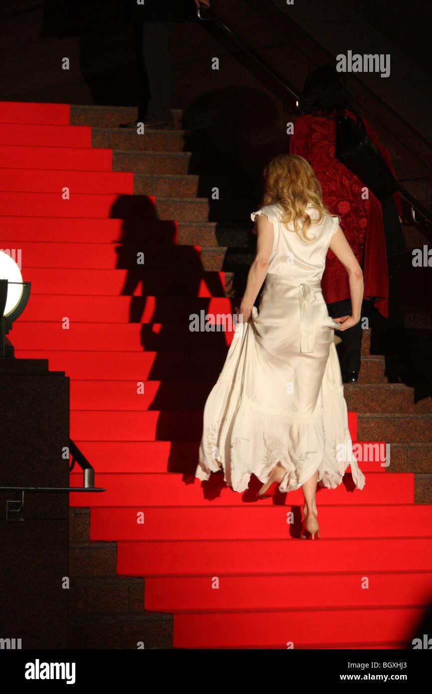 'La Brújula dorada', estreno en Japón, Tokio, Japón, el jueves 21 de febrero, 2008. Nicole Imagen De Stock