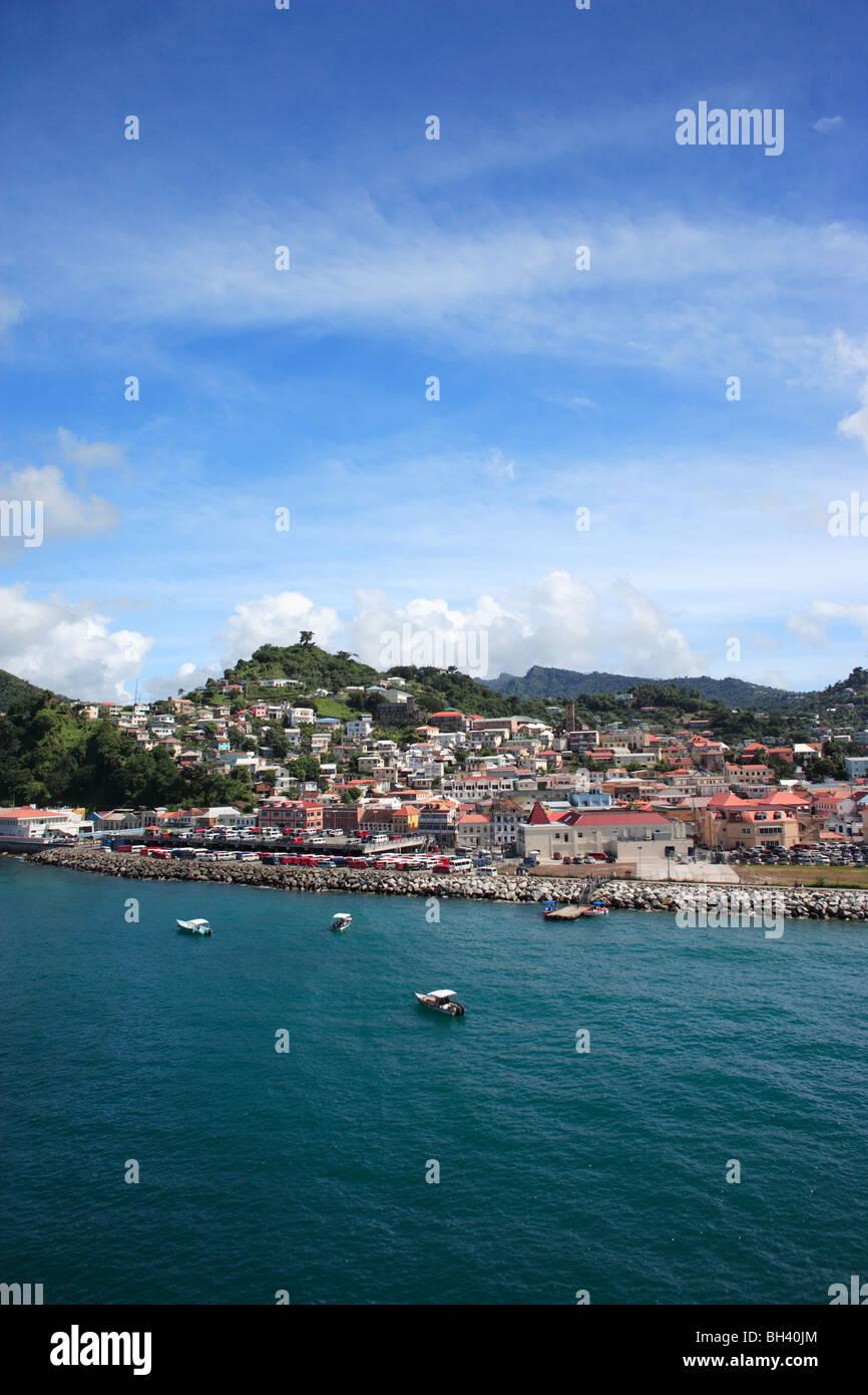 St George's, Granada, Caribe Foto de stock