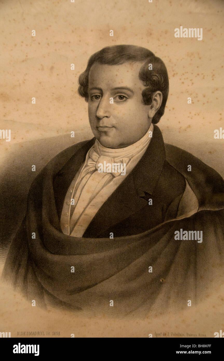 Mariano Moreno abogado político de la Revolución de Mayo. Imagen De Stock