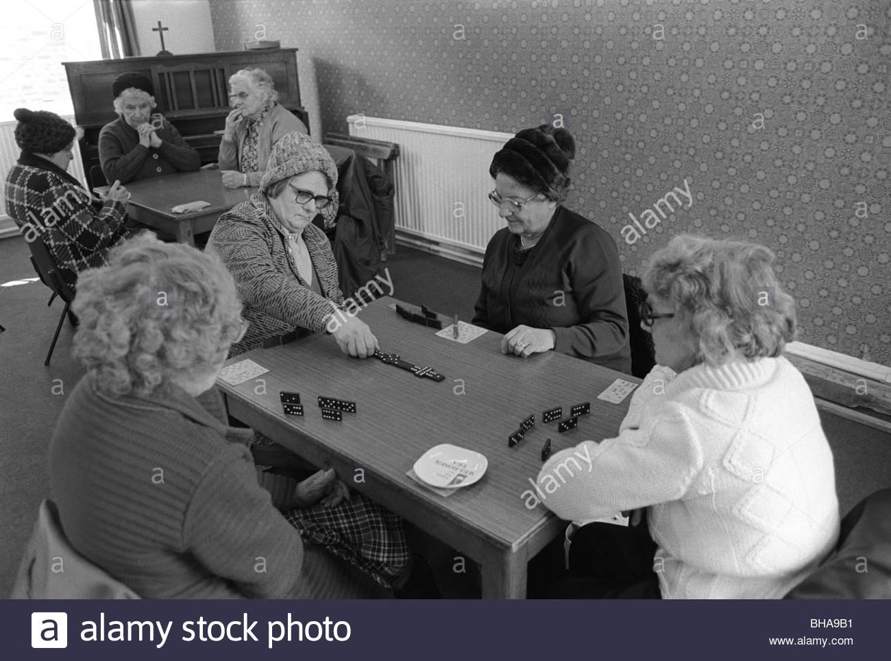 Cerca de Saltaire Bradford Shipley West Yorkshire, Inglaterra, 1981. HOMER SYKES Imagen De Stock