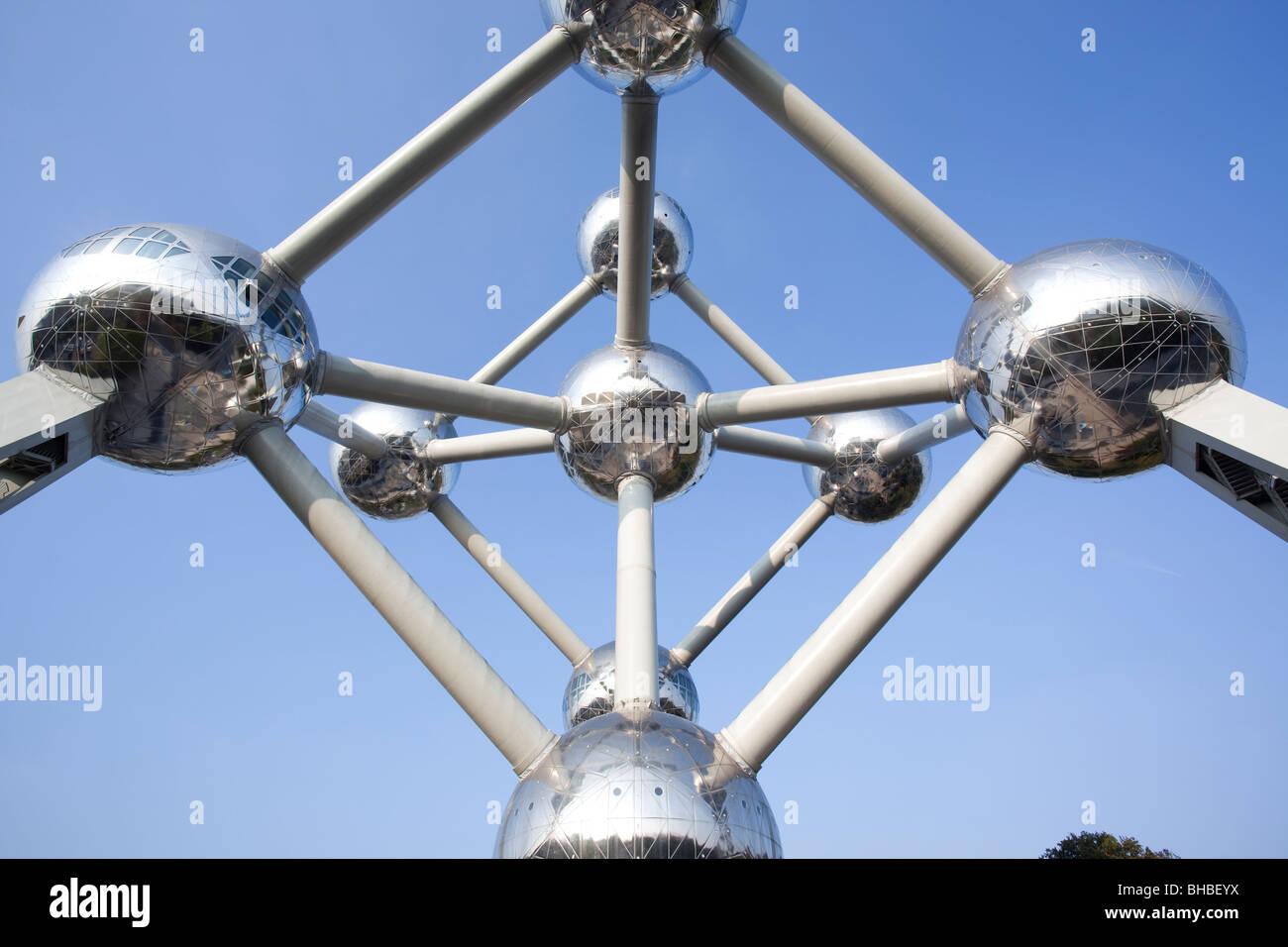 """""""El Atomium de Bruselas Bélgica Imagen De Stock"""