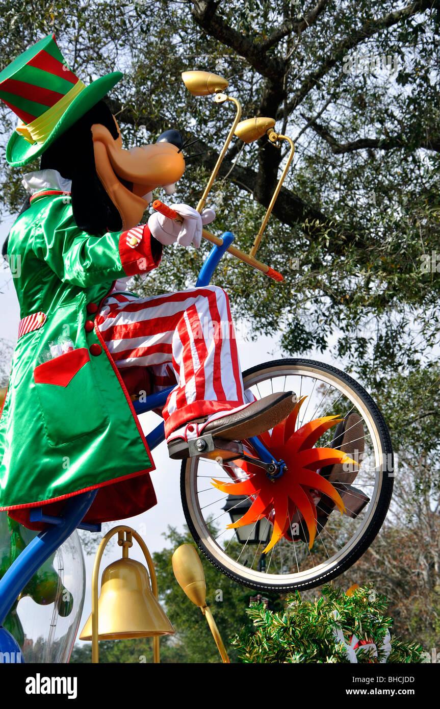 Goofy, Disneyworld, en Orlando, Florida, EE.UU. Foto de stock