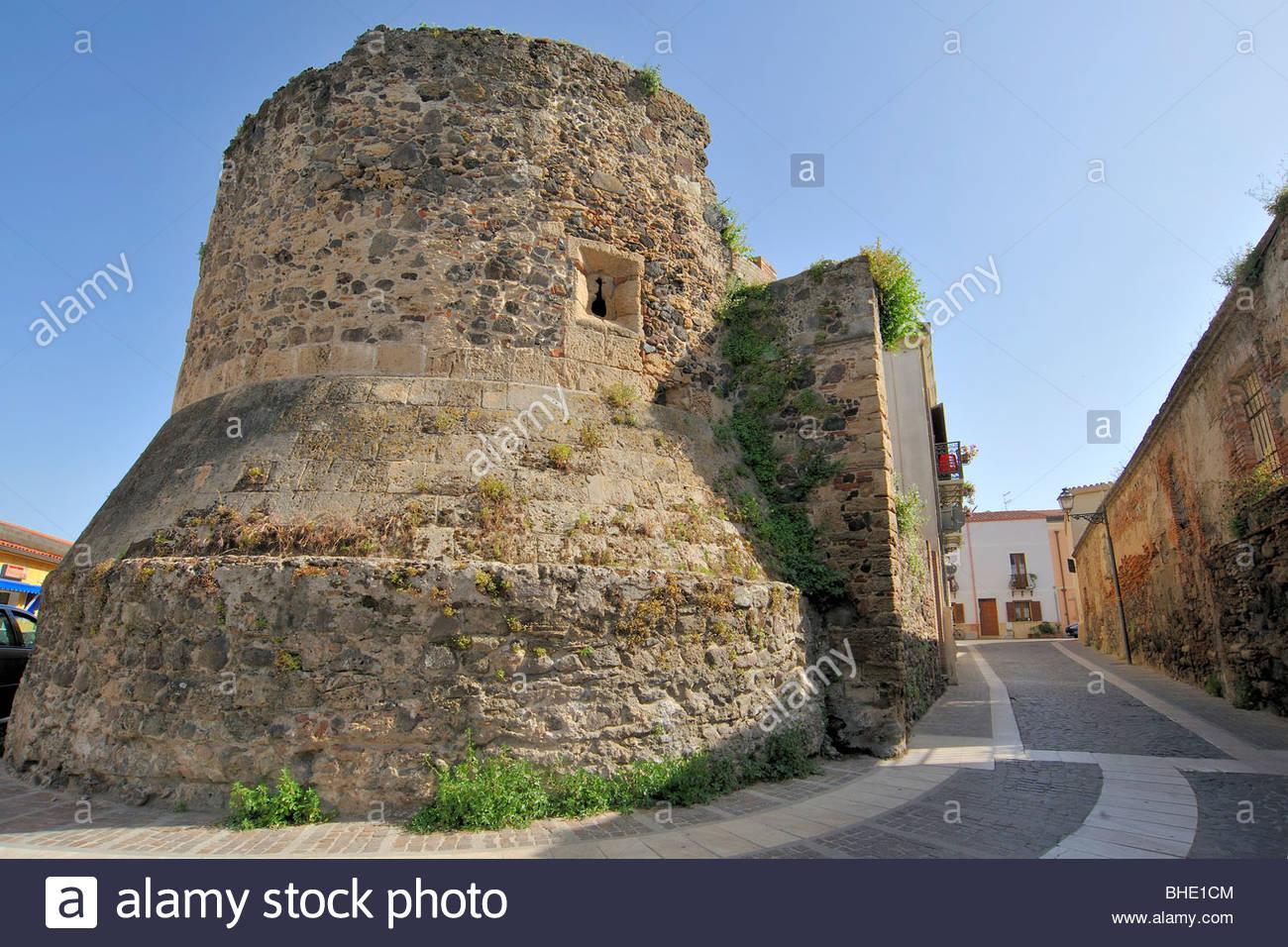 De portixedda toer, Oristano, Cerdeña, Italia Foto de stock