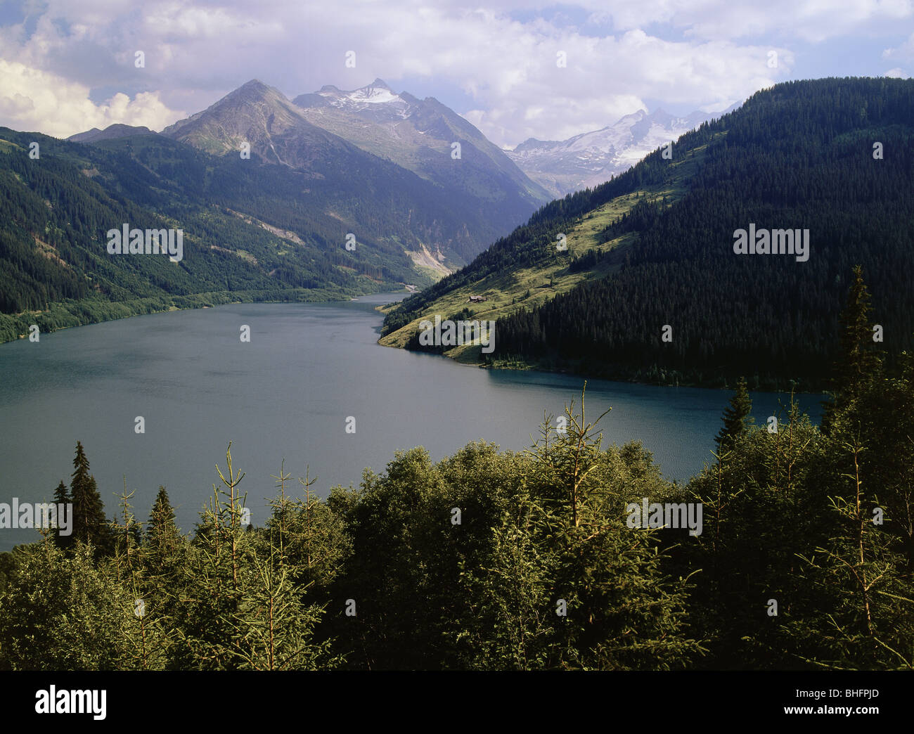 Geografía / viajes, Austria, Tirol, paisajes, Additional-Rights Durlaßbodenspeicher-Clearance-Info-Not Imagen De Stock