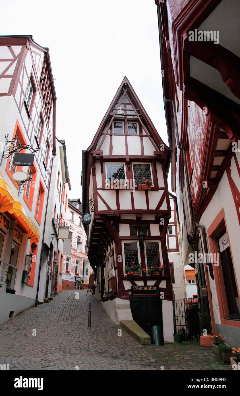 Una ciudad alemana tradicional Imagen De Stock
