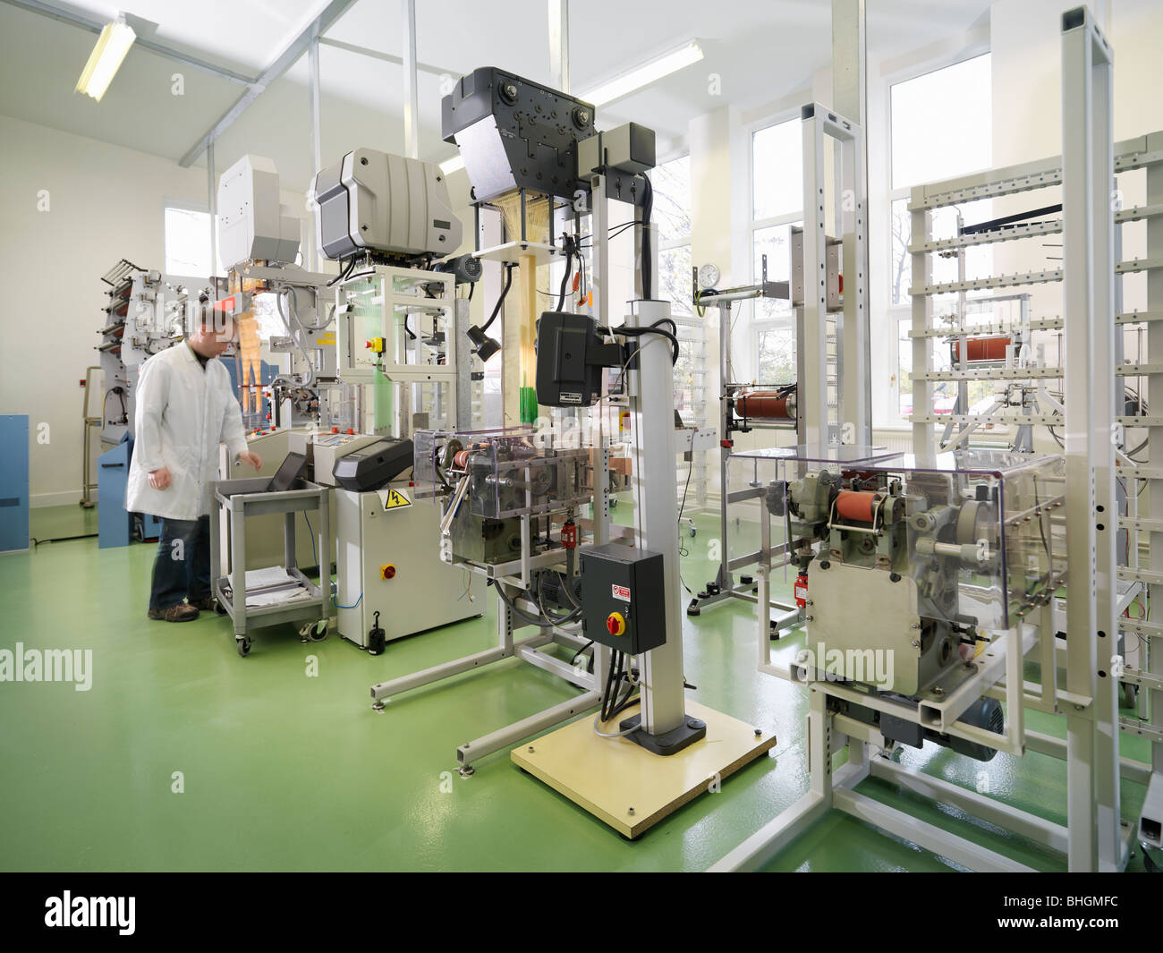 Tejido técnico de productos médicos Imagen De Stock