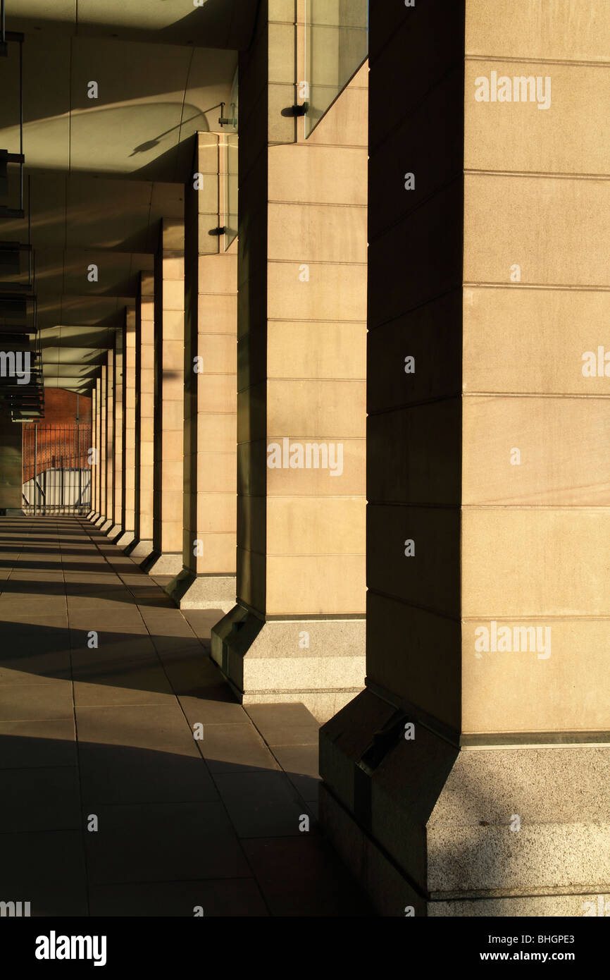 Portcullis House, el Parlamento, Londres Foto de stock