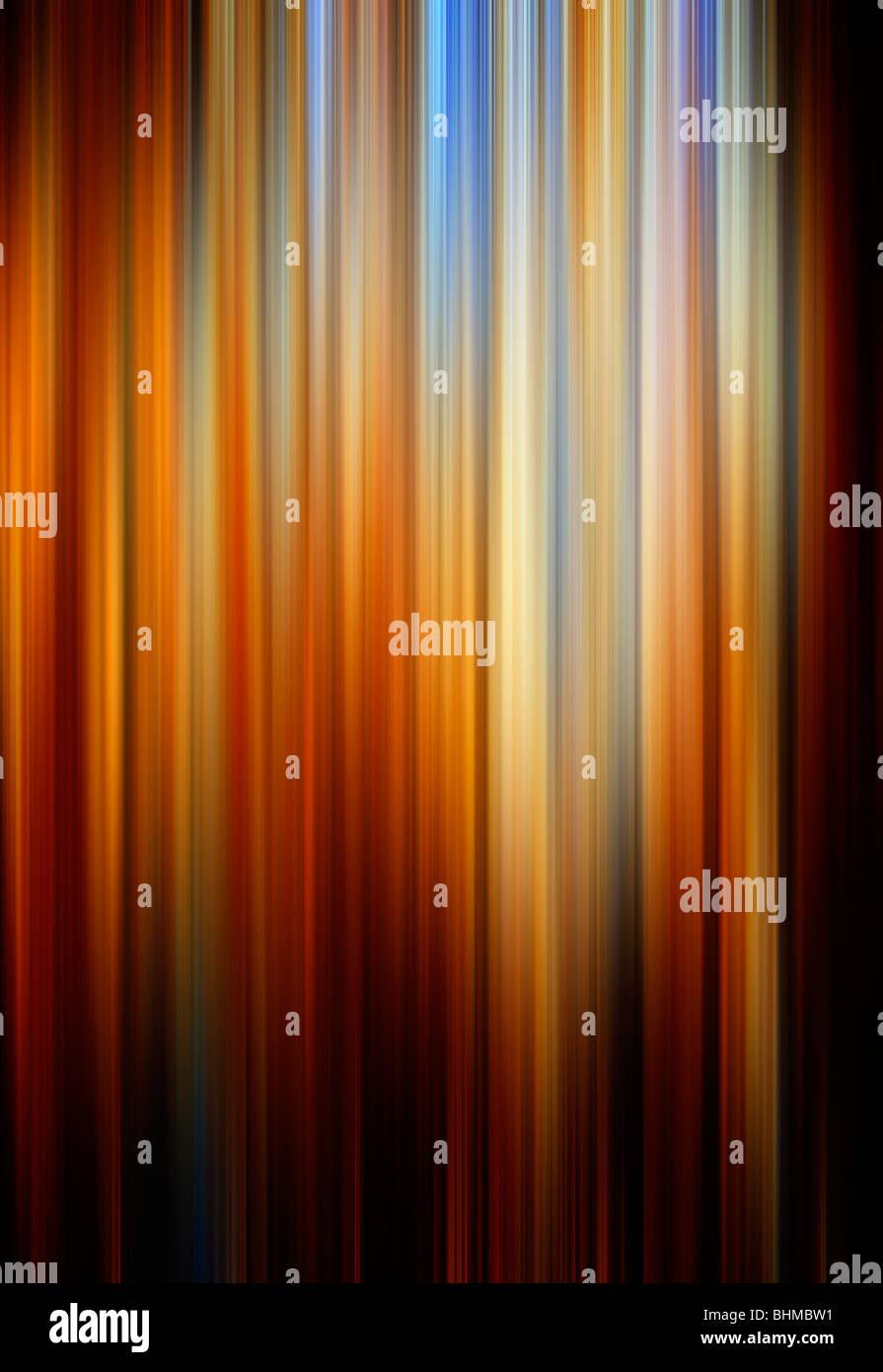 Colores abstractos con líneas de fondo y movimiento Imagen De Stock
