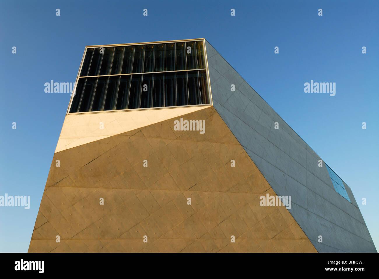 Porto. Portugal. La Casa da Musica. Imagen De Stock