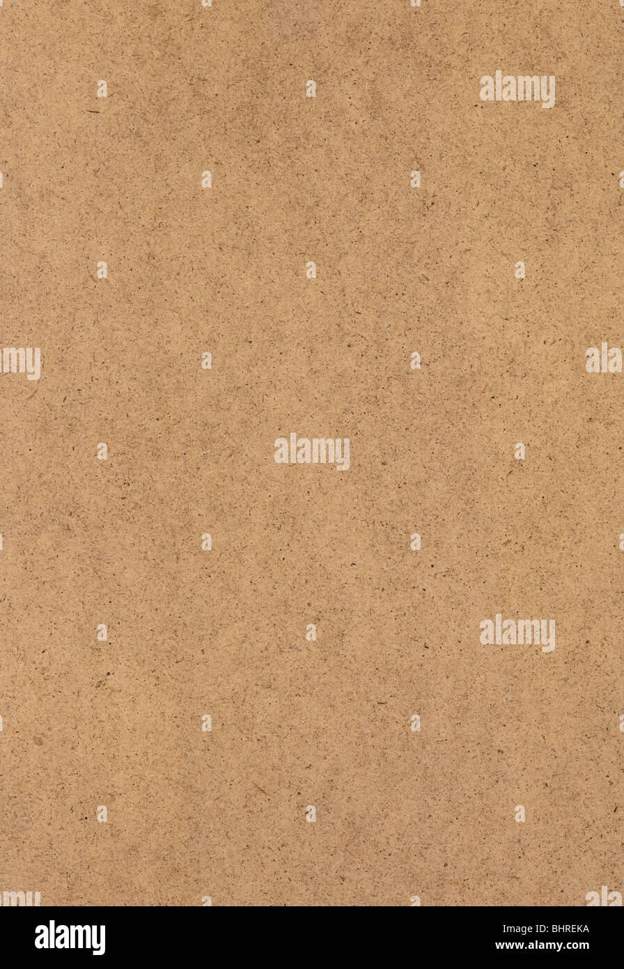 Hoja Сardboard llanura plana superficie de textura. Tamaño nativo, no convertidos. Imagen De Stock